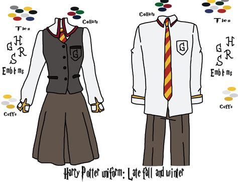 harry potter uniform 4 by yinyangswings on deviantart