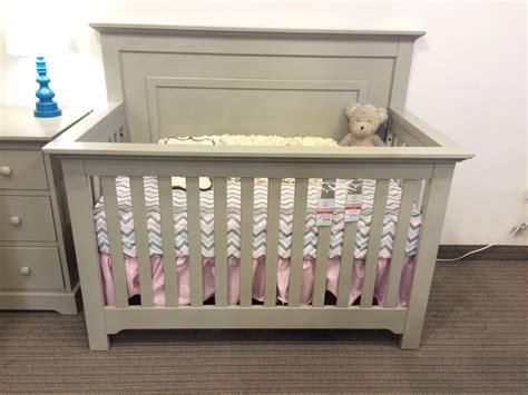 Light Grey Crib by Munire Chesapeake Panel Crib In Light Gray Reg 579