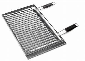 Grille Barbecue 60 X 40 : grillrost edelstahl 60 x 40 cm f r sunday grillkamin kaufen ~ Dailycaller-alerts.com Idées de Décoration