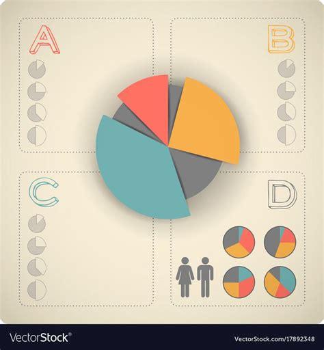 vintage infographics set royalty  vector image spon