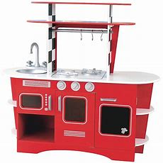 Elc Early Learning Centre Wooden Diner Kitchen Toy New