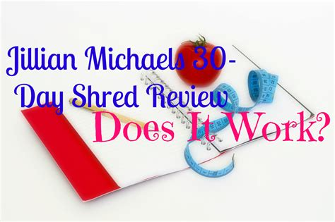 Jillian Michaels 30day Shred Review  Does It Work?