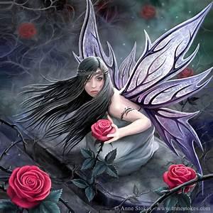 Anne Stokes …. great fantasy artist!!   It Is What It Is