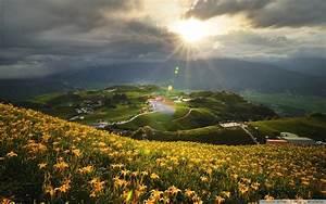 Beautiful Mountain Sunset - wallpaper.