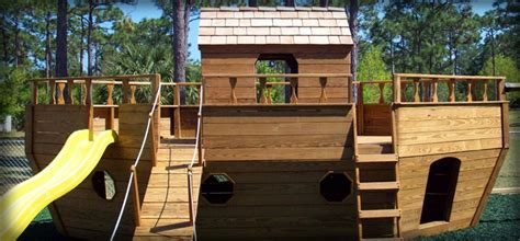 Pirate Ship Backyard Playset by Free Pirate Ship Playset Plans Woodworking Projects Plans