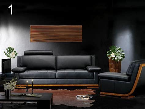 canape cuir et bois un avenir pour le canapé cuir et bois