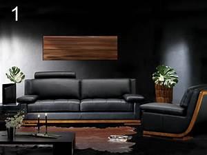 un avenir pour le canape cuir et bois With canapé cuir et bois