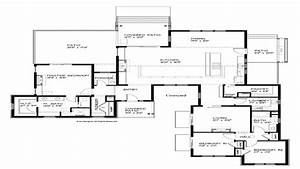 Contemporary House Plans Modern Single Story House Plans ...