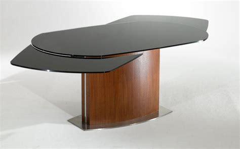 Table De Repas Saturn Noir/noyer, Extensible Jusqu'a 12