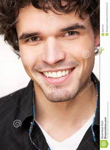 Handsome Young Man Smiling Royalty Free Stock Image ...