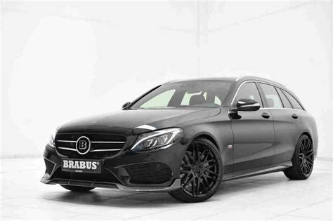 Brabus Upgrades The Mercedes C-class Estate Amg Line