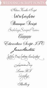 Ally and Callie: The Other 128 Hours: Top Wedding Script Fonts