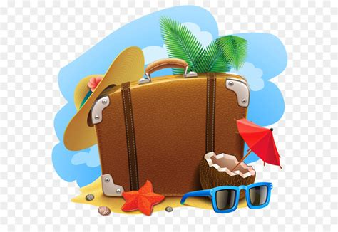 Vacation Clipart Travel Suitcase Summer Vacation Clip Summer