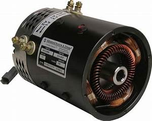 Gem Car 72 Volt Stock Replacement 5 Hp Electric Motor