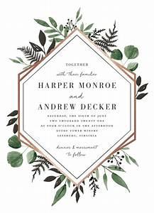 quotshade gardenquot foil pressed wedding invitation by minted With foil pressed wedding invitations canada