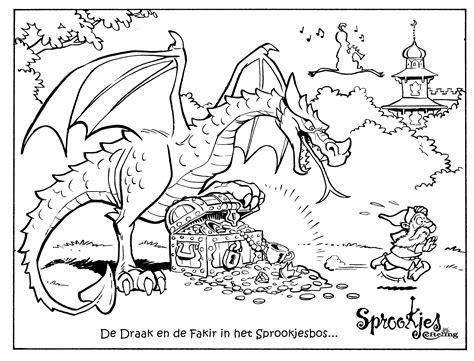 Efteling Kleurplaat Draak by Kleurplaat Efteling 187 Animaatjes Nl