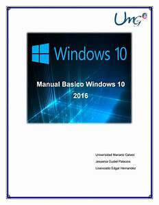 Manual Basico Windows 10  2016 By Jessenia Palacios