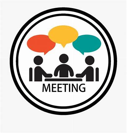 Meeting Clipart Resident Schedule Clip Agenda Council