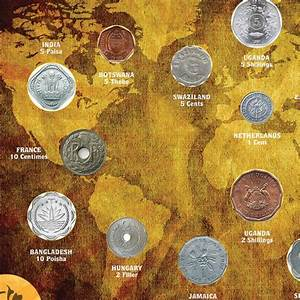 Odd, Shaped, Coins, Of, The, World