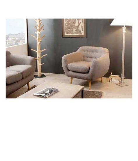 simulation couleur cuisine petit fauteuil en tissu taupe dossier capitonné delamaison