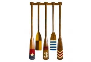 Decorative Wooden Oars And Paddles by Wooden Oars Paddles Gonautical