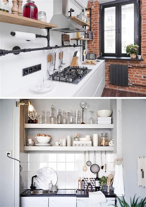 maneiras de organizar uma cozinha pequena