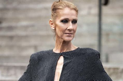 celine dion reveals reason   dramatic weight loss