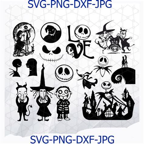 Jack Nightmare Before Christmas Svg Free  – 244+ File for DIY T-shirt, Mug, Decoration and more