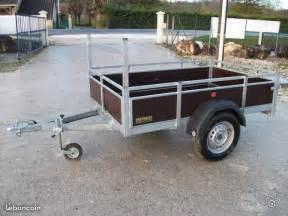 remorques simple et double essieux equipement auto