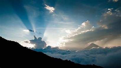 Clouds Height Sun Definition Wallpapers Sky Nature