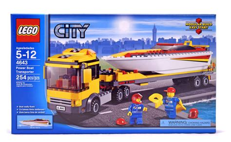 Power Transporter by Power Boat Transporter Lego Set 4643 1 Nisb Building