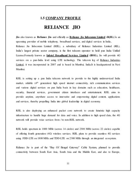 impact of reliance jio on telecom sector