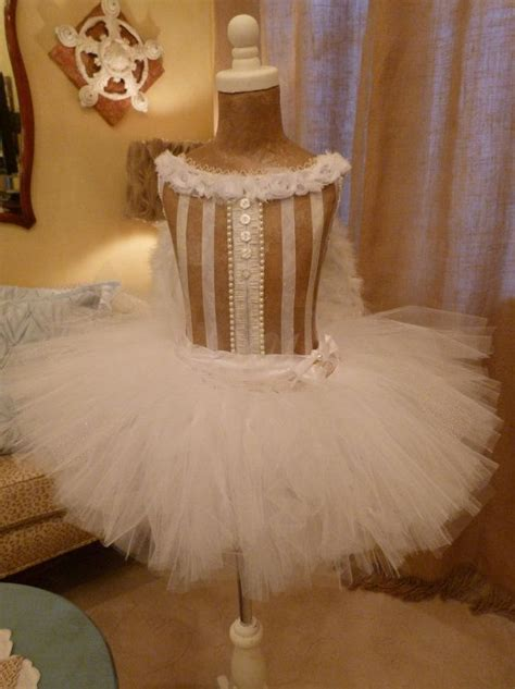 Girl's Vintage Inspired Dress Form Mannequin Ballerina