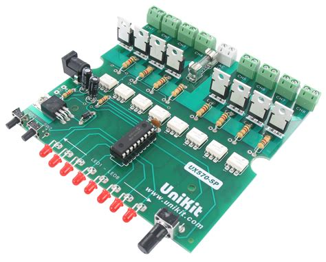 light controller kit 8 channel ac light controller kit available at electronic