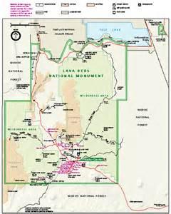 lava beds national monument official park map lava beds national monument ca mappery