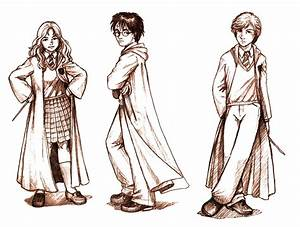 Harry Potter Bookmark Drawings by Aycelcus on DeviantArt