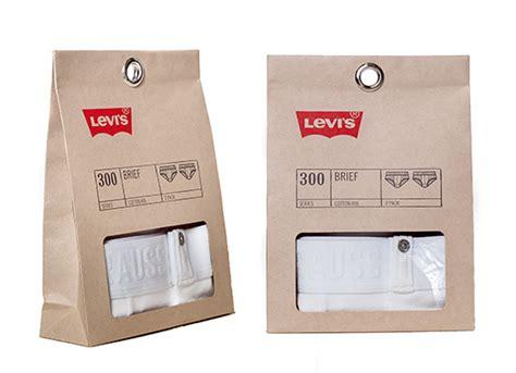 Levi Basics reusable package design