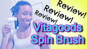 HowTo & REVIEW: Vitagoods Spin For Perfect Skin Brush ...