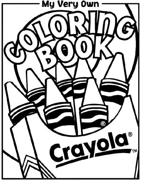 coloring book cover crayolaca