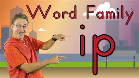 word family ip phonics song  kids jack hartmann