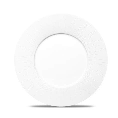 assiette de présentation infini blanc set de 3 assiettes de pr 233 sentation haviland