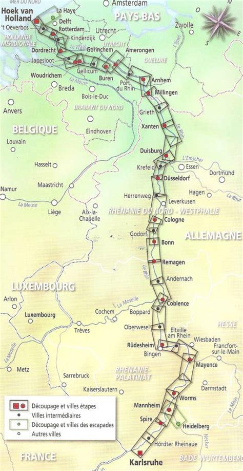 Carte Fleuve Rhin by Guide De La V 233 Loroute Du Rhin Isabelle Et Le V 233 Lo