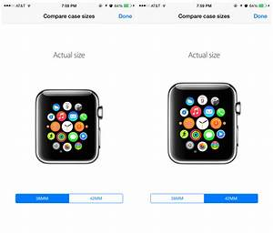 Here S How To Tell Which Apple Watch Case Size Is For You