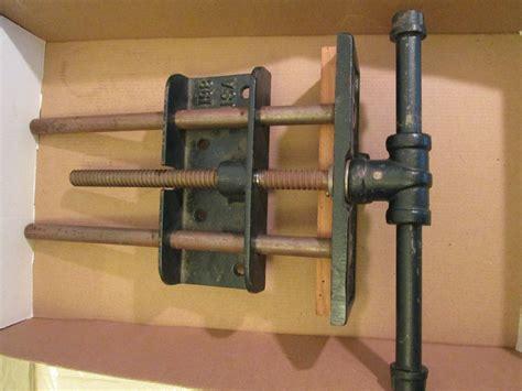 vintage  woodworking vise  bench littco  usa