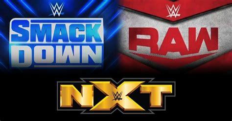 wwe raw smackdown nxt logos ewrestlingnewscom