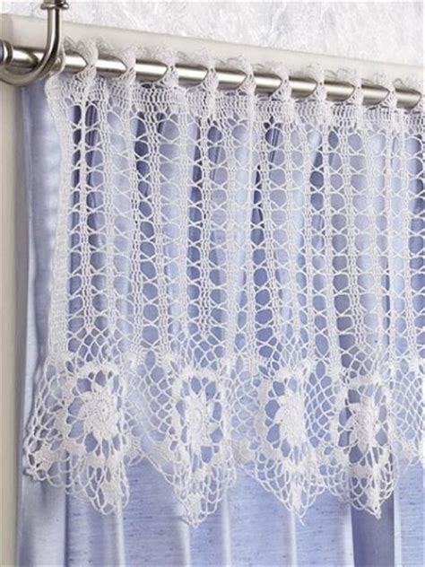 10 free crochet curtain patterns collection by moogly