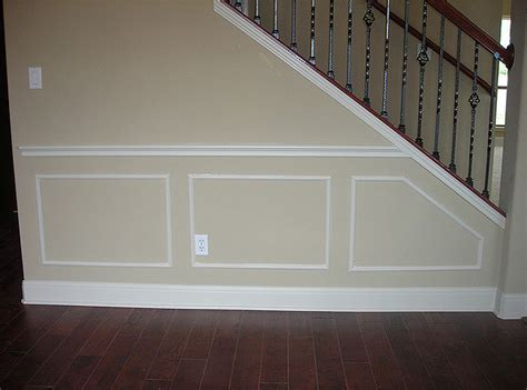 wall frame molding chair rail moldings painters 3310