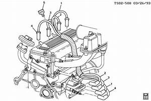2000 Chevy Silverado Spark Plug Wire Diagram  Parts  Auto Wiring Diagram