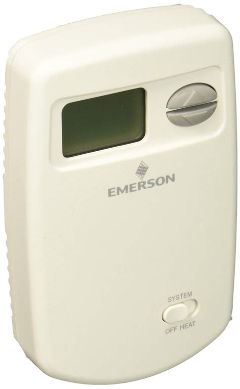 emerson 1e78 140 non programmable heat only thermostat for