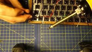 Hand-wiring A Custom Keyboard  Montage